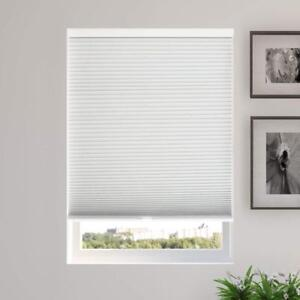 "NEW Chicology Cordless Cellular Shades Blackout Window Blind, 38"" W X 48"" H, Evening Mist"