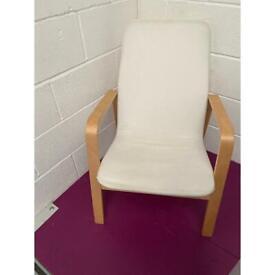White Ikea Arm Chair