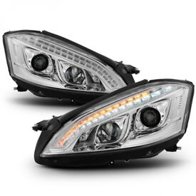 2 x S-CLASS W221 06-09 PRE-FACELIFT AFS HID D1S Headlights / Lamps CH for Mercedes-Benz