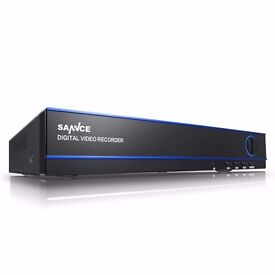 16 Port DVR with 4TB hardrive and 2 Cameras