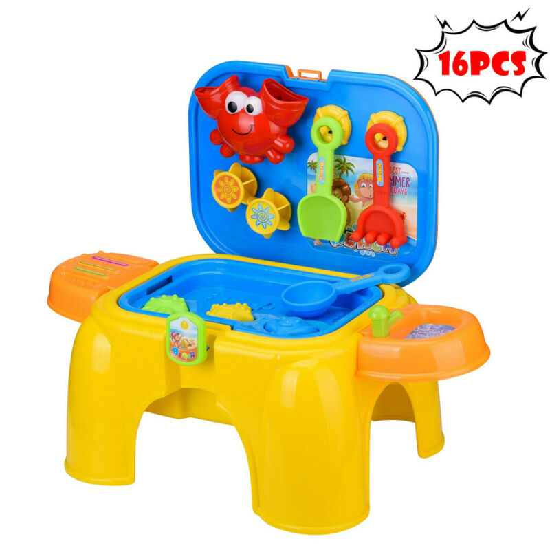 Children's Toy Stool Game Table Summer Beach Toy Sandglass P