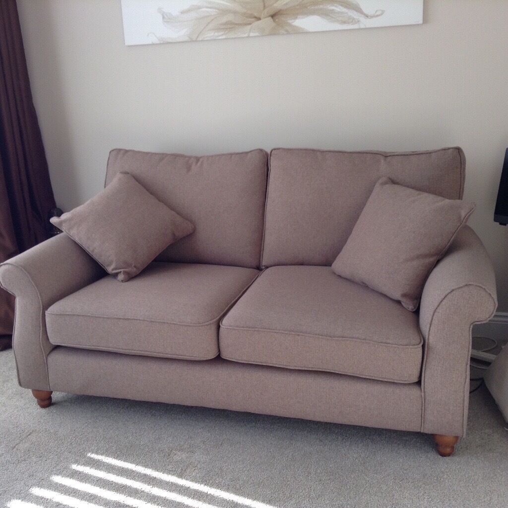 Next Ashford Sofa Medium Tweedy Blend Mid Natural Seater In - Ashford sofa