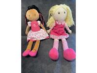 Children's rag dolls soft plush toys