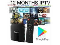 TX3 Mini 2GB+16GB Android 7.1 Quad Core TV Box 17.6 HD Media Player WIFI + 1 YEAR IPTV PREMIUM
