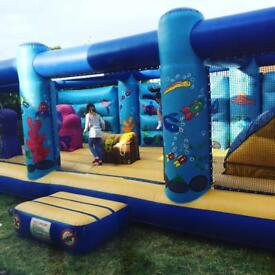 33 foot bouncy castle