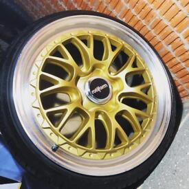 "rotiform lsr wheels 5x112 19"" audi vw alloys"