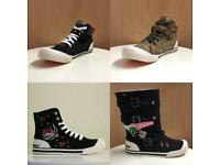 Wholesale Rocket Dog High Top Trainers Size 4-8
