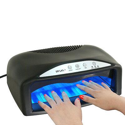 SEGAWE Black Light 54W Lamp UV Nail Dryer LED Gel Nail Polish Nail Art Tool