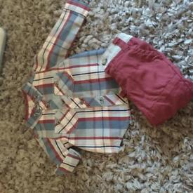 Boys 0-3 outfit m&co
