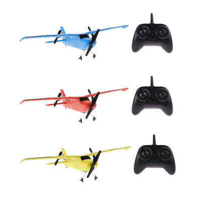 2.4G Aeroplane Aircraft RC Remote Control Plane Airplane Glider 2CH Toy Kids