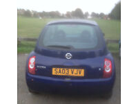 Nissan Micra 1 litre, NO MOT, accident damaged