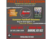 First session FREE - Football Skills & Development for boys & girls aged 3-11