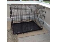 Black Metal Dog Cage