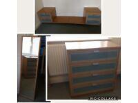 IKEA Hopen Oak Style Bedroom Furniture