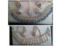 Asian stone set jewellery sets