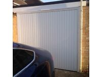 Plastic coated steel garage door only 12 months old