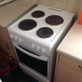 4 ring free standing cooker