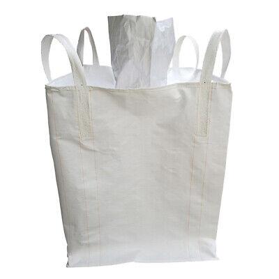 1.5 Tons FIBC Bulk Bag Builders Bag Waste Rubble Storage Sack with 4 Loops