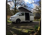 VW T5 3/4 Berth Campervan Hire