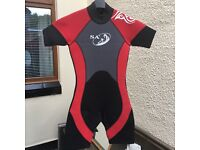 "2x 32"" chest wetsuits"