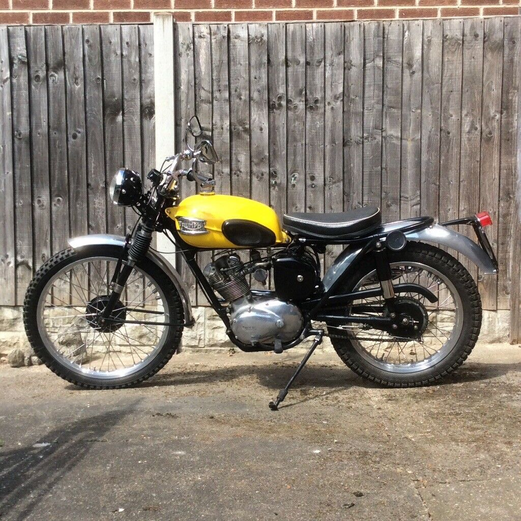 Classic Triumph Tiger Cub Trials Motorcycle 1957 In Chaddesden