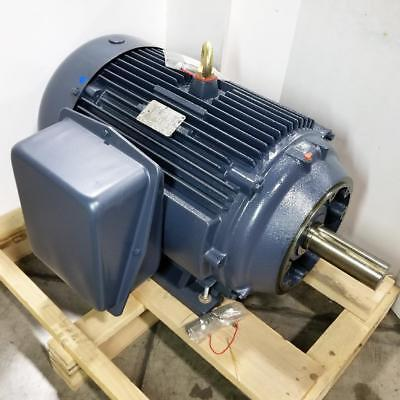 Century 60 Hp 1200 Rpm Tefc 208230460v 404tc Frame Footed 3 Phase Motor Cfr39