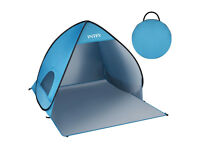 Beach tent Outdoor Portable Lightweight Pop-up Tent with 50+ UPF Protection for Sun Protection,