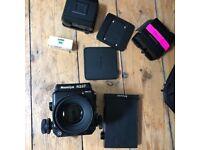 Mamiya Rz67 Pro II kit 127mm f3.5 120 and polaroid back accessories