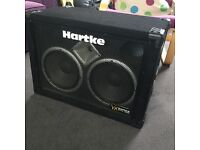 Hartke VX210 Bass Cab, only used at home