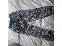 *brand new* H&M patterned trousers