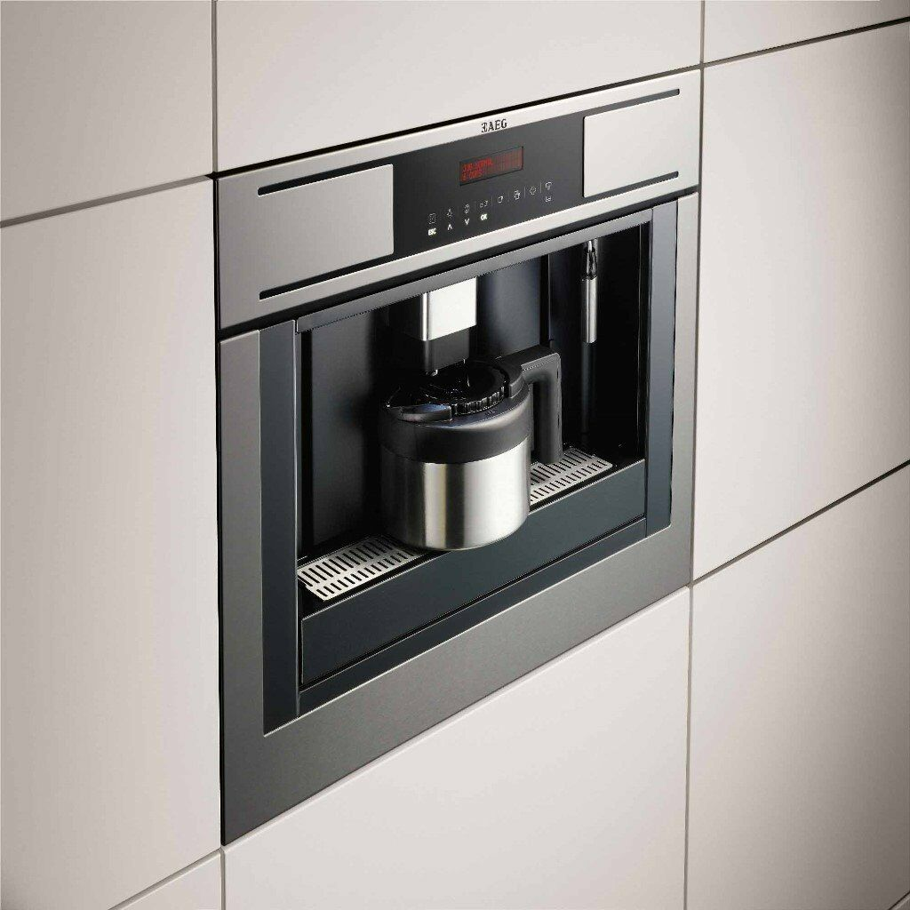 aeg pe4511m builtin stainless steel touch control coffee maker espresso machine