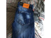 Dsquared jeans w30/32 brand new