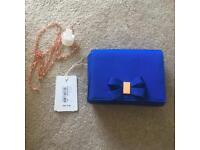 Ted baker clutch bag blue used once