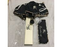 BURBERRY UNISEX UMBRELLA LIMITED EDITION BRAND NEW WITH TAG / FULL BURBERRY PACK