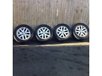 Discovery 3 hse alloy wheels & tyres x 4