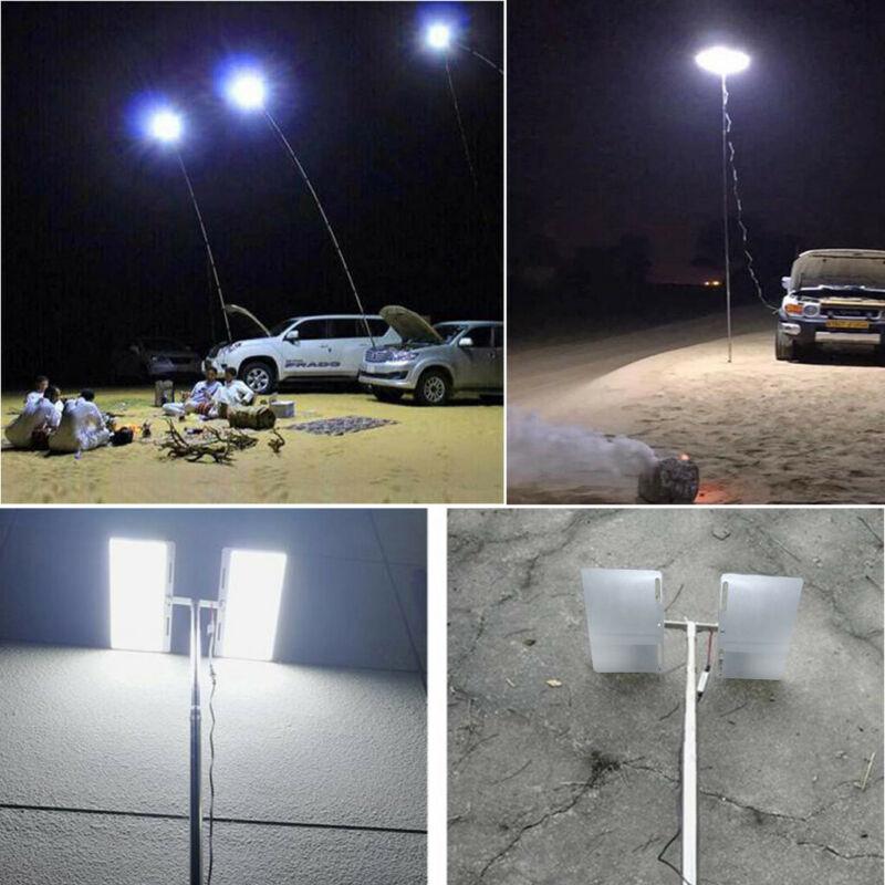 BBQ Telescopic COB Rod LED Fishing Outdoor Camping Lantern Light Lamp Hiking US