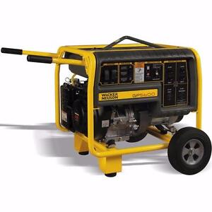 Wacker (GP5600) 5600W Portable Generator w/warranty $799.99