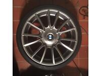 BMW 19 inch alloy wheels x4 style 228