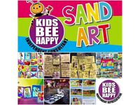 Sand art activity for parties , events ,groups ect