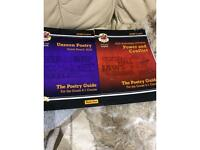 Text guides anthology English poetry