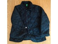 Boys Lightweight Quilted Navy Coat/Jacket Age 18-24months