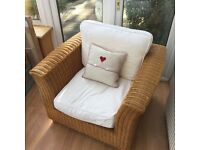 Wicker Couch and Chair