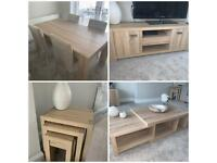 Next dining table and living room furniture