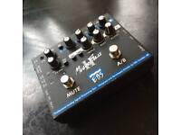 EBS Microbass II bass guitar preamp pedal
