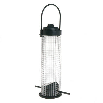 Outdoor Bird Feeder Tree Hanging Mesh Feeding Portable Wild Birds Container