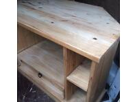 Solid Wood TV Unit - Can Deliver