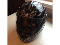 SHARK motorcycle helmet....SAMURAI design....BRAND NEW!!!!!