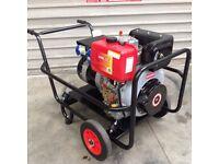 6500 N.I.E. Winter Back-up Diesel Generator electric start