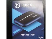 Elgato Game Capture HD60 S, Stream and Record in 1080p60, for PlayStation 4, Xbox One & Xbox 360