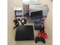 PS3 320gb + 12 games